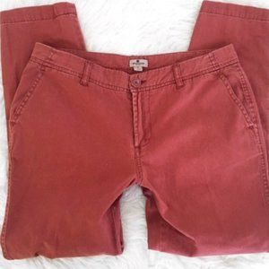 Red Clay Perfect Condition Chino Pants